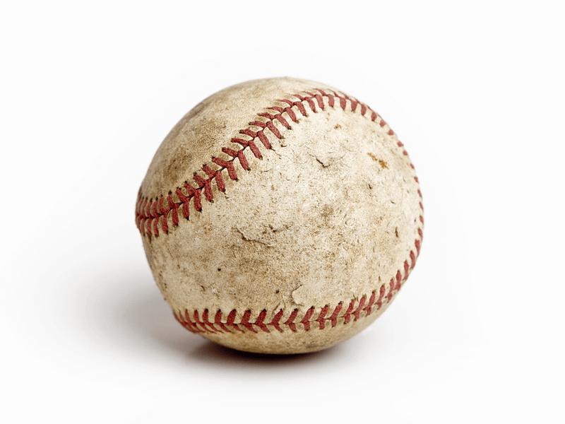 野球ボールのお手入れ方法