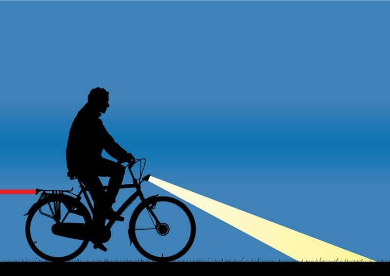 バッテリータイプ4種類を比較,自転車 ライト