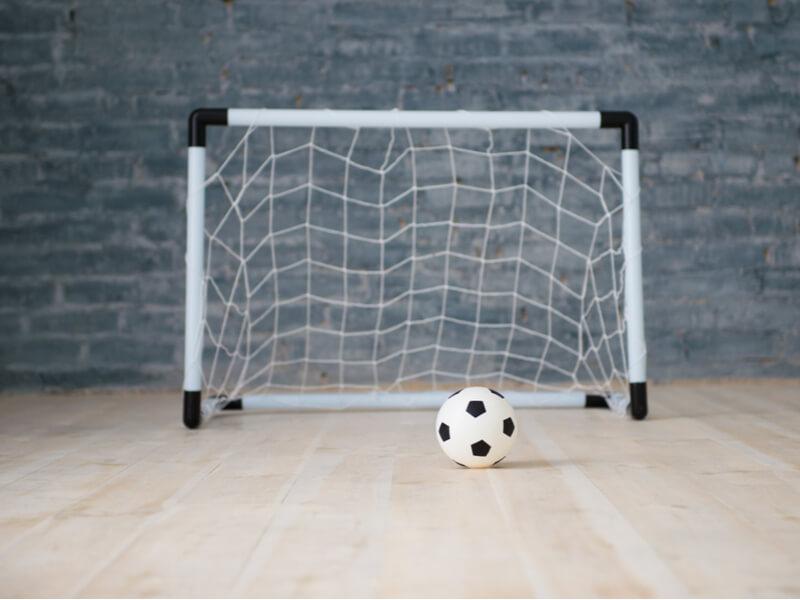 サッカーゴールの大きさにも違いがある