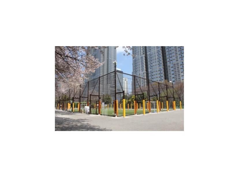 新宿中央公園フットサル場