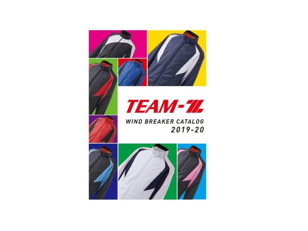 """マルチスポーツ対応ウェア""""TEAM-Z""""カタログ"""
