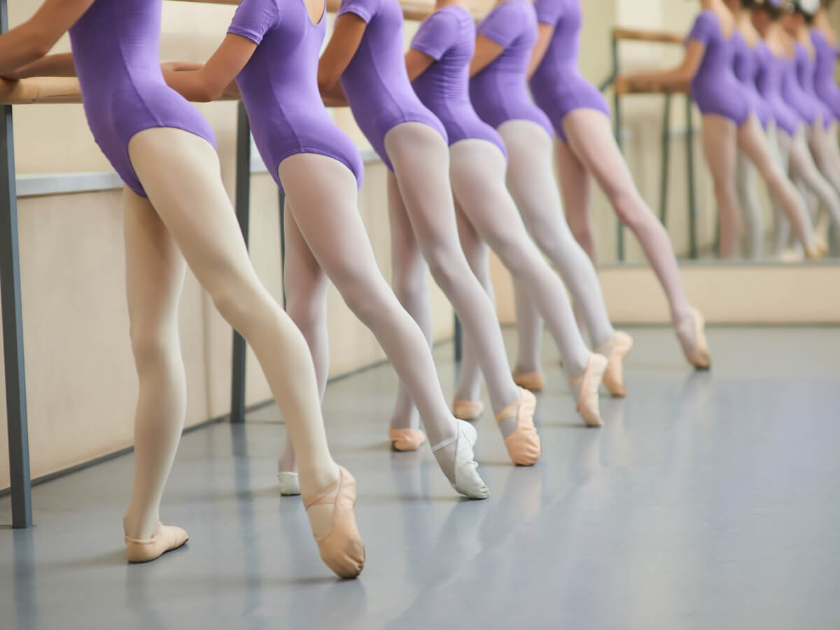 バレエのレッスン
