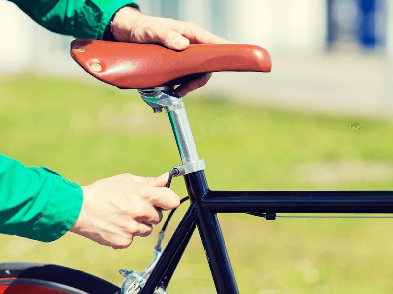 自転車のサドルの乗り心地を決めるポイントは3つ