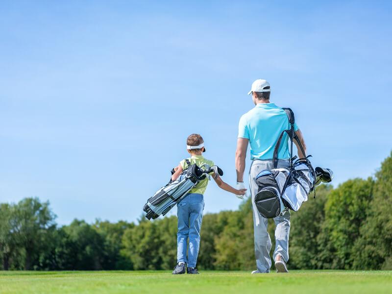 子供用ゴルフクラブと大人用ゴルフクラブの違いとは?