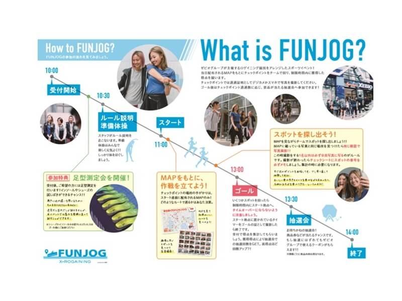 FUNJOG in 渋谷