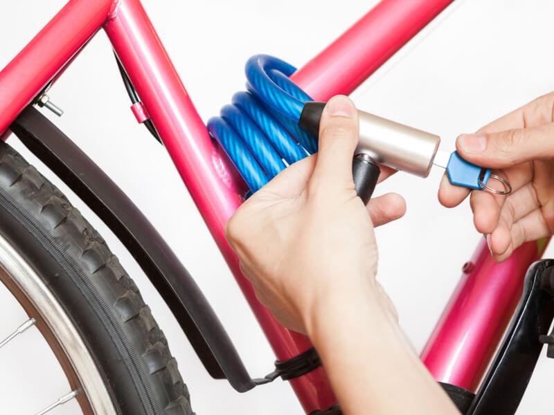 クロスバイクの鍵の選び方