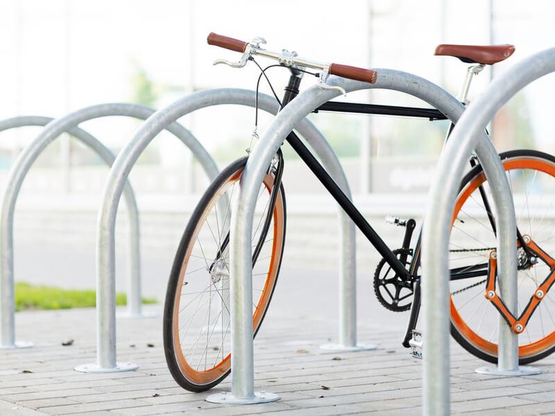 自転車と鍵