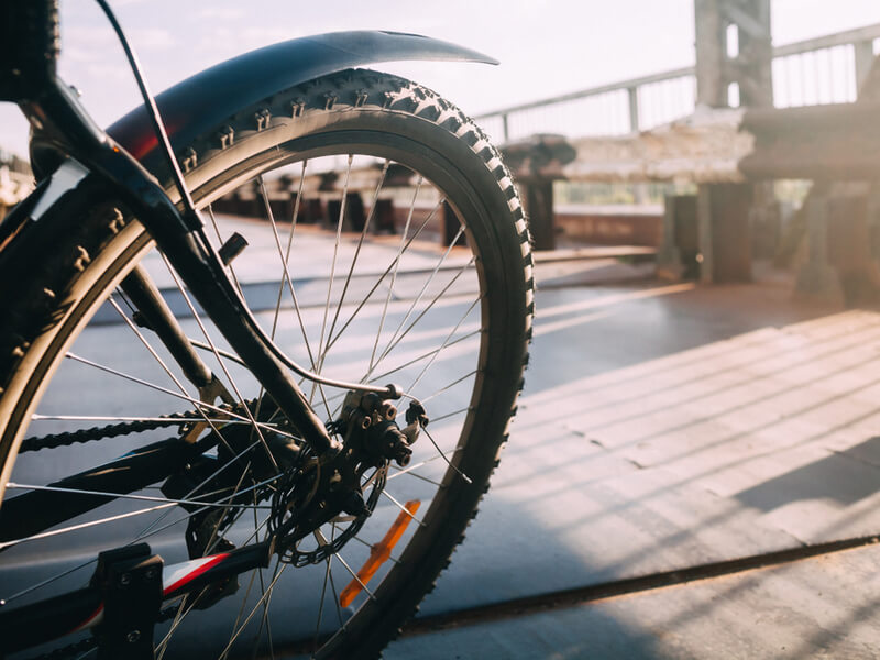 マウンテンバイクの泥除けの選び方