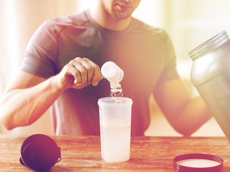 筋トレの効果が期待できるプロテイン摂取方法