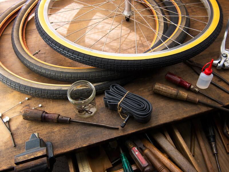 ロードバイク用タイヤのお手入れ方法