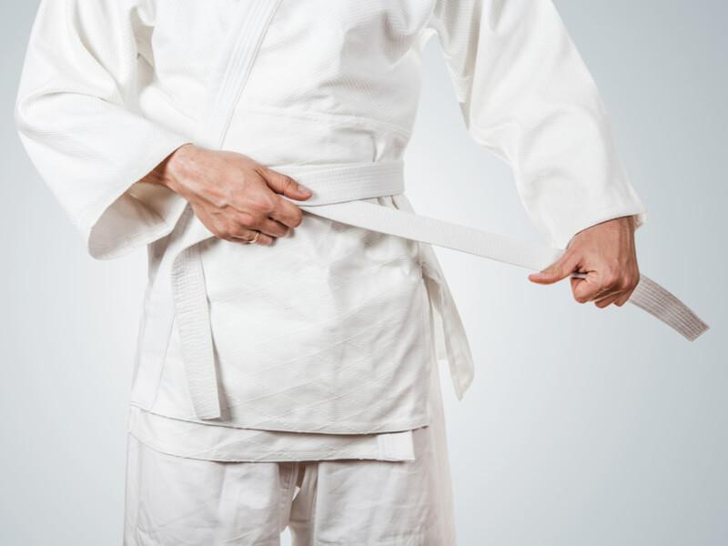 柔道着の帯選びで意識したいポイントは2つ